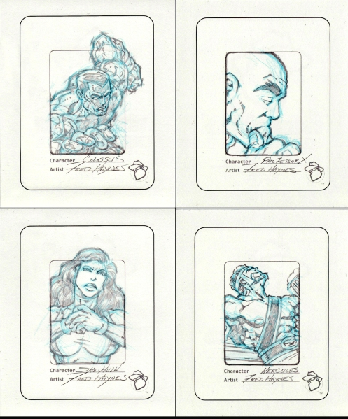 Sketch cards for Blog