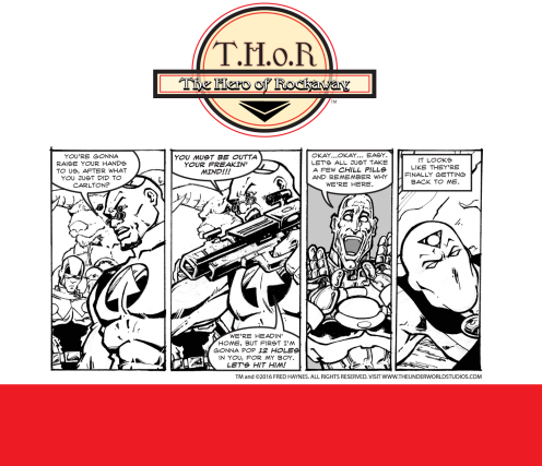 T.H.o.R CRIME Episode 11 by Fred Haynes