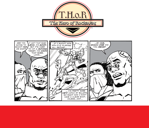 T.H.o.R CRIME Episode 15 by Fred Haynes