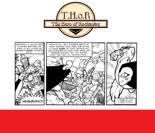 T.H.o.R CRIME Episode 17 by Fred Haynes