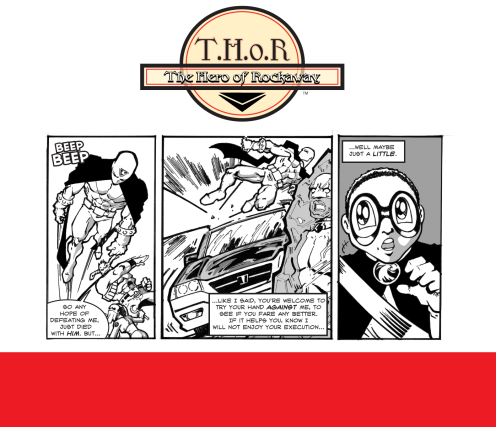 T.H.o.R CRIME Episode  26 by Fred Haynes